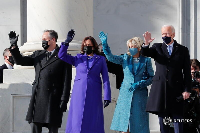 #Class #Dignity #Professionalism is back in The White House. #BidenHarrisInauguration #MadamVicePresidentKamalaHarris #PresidentBiden #NewChapter #NewYear #NewAmerica
