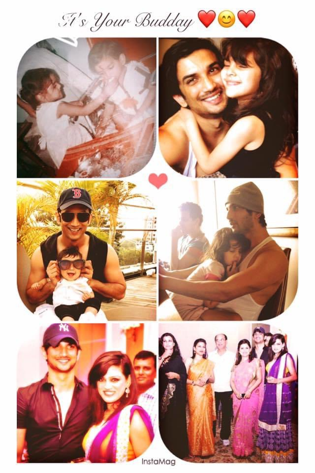 Love you Bhai ❤️❤️❤️ You are part of me and will always remain so... #SushantDay