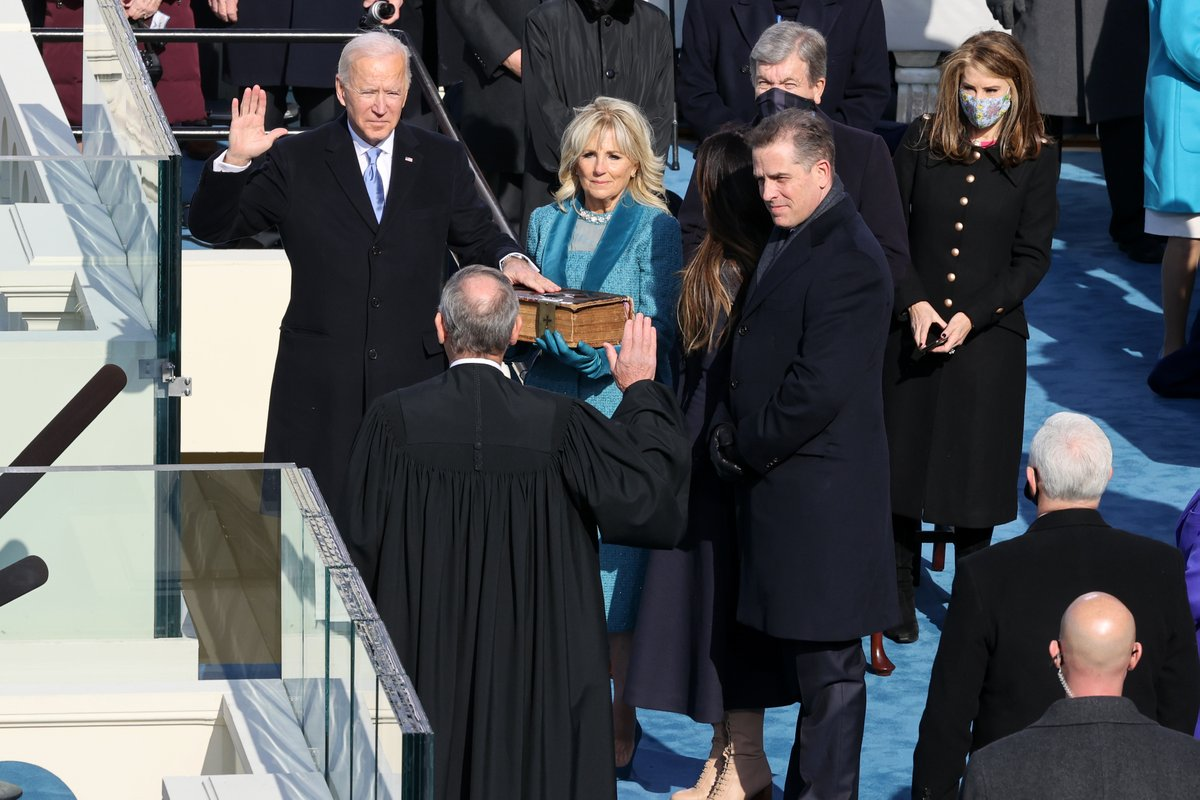 Congratulations to President @JoeBiden (@POTUS) and @KamalaHarris (@VP)!   We are excited to work with the Biden/Harris Administration toward a better future for American #music makers and for all Americans. #InaugurationDay
