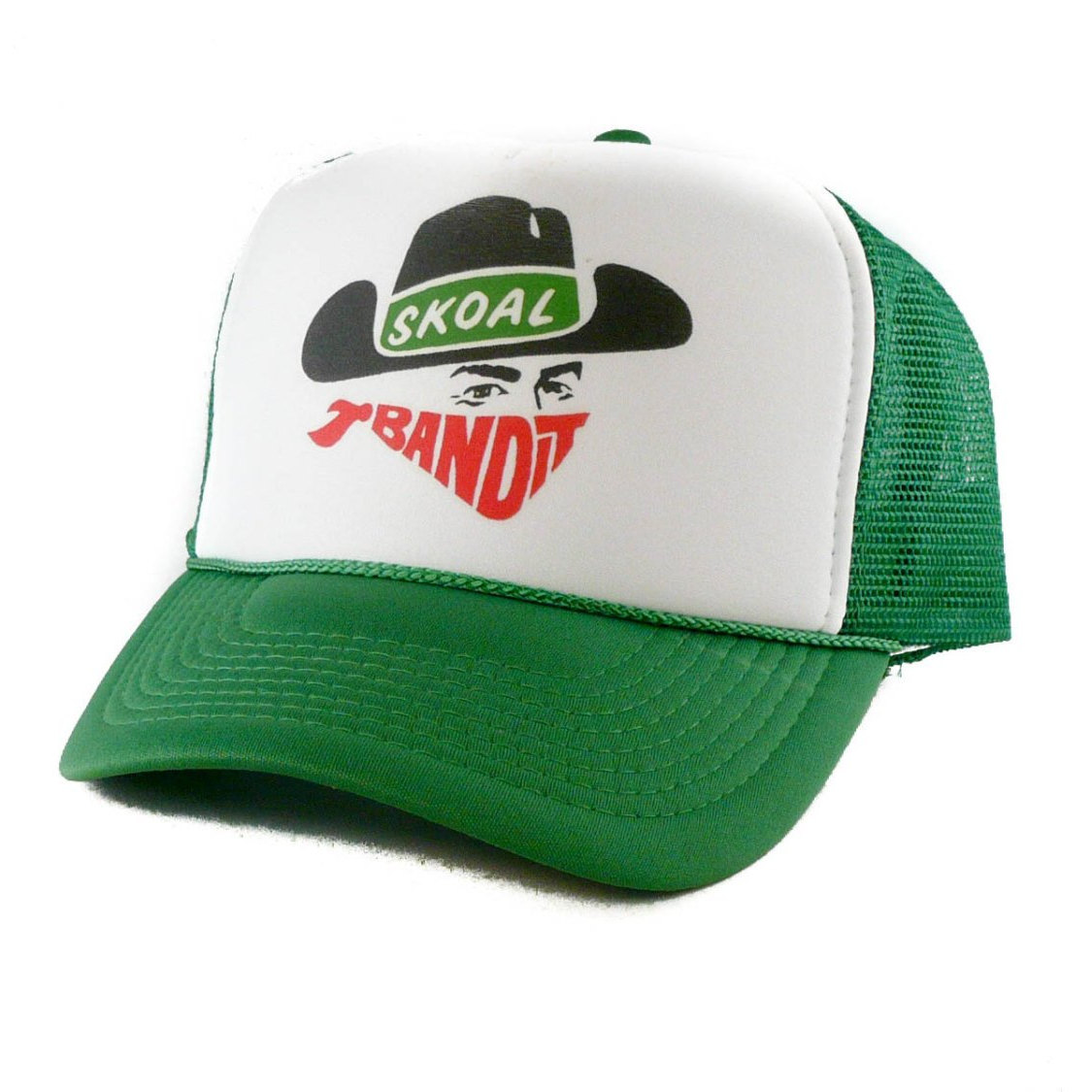 "Thanks for the kind words! ★★★★★ ""Love it, my grandpa owned the skoal team back in the 80s and 90s. I have some vintage hats I don't want to wear out and this one is perfect."" Ryan  #etsy #green #white #birthday #christmas #truckerhat #snapbackha"