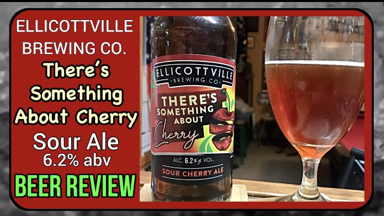 My latest beer review There's Something About Cherry - Sour Ale - Ellicotville Brewing - Drink...  via @YouTube #beertube #beerreview #beer #ale #beeroclock #beeroftheday #Review #YouTubers #YouTubeOriginals #youtubevideos #adultbeverage #humpday #BeerMe
