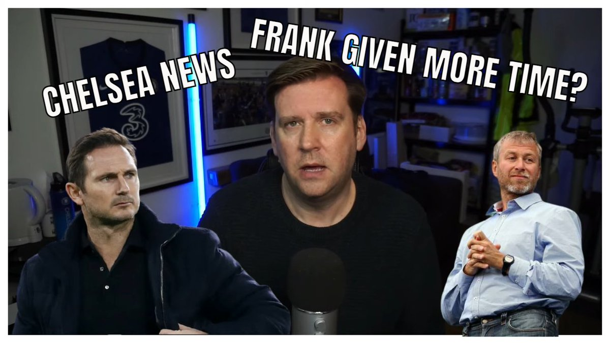 NEW VIDEO - 7PM UK TIME  CHELSEA NEWS IN FIVE MINUTES   ROMAN ABRAMOVICH TO GIVE FRANK LAMPARD MORE TIME? #CFC ...    via @YouTube