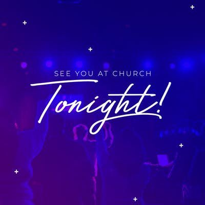 #Church —7pm #APlaceForYOU