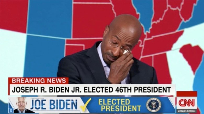 Van Jones when the Trump Campaign check bounced !! #BidenHarrisInaugurationDay #TrumpsLastDay