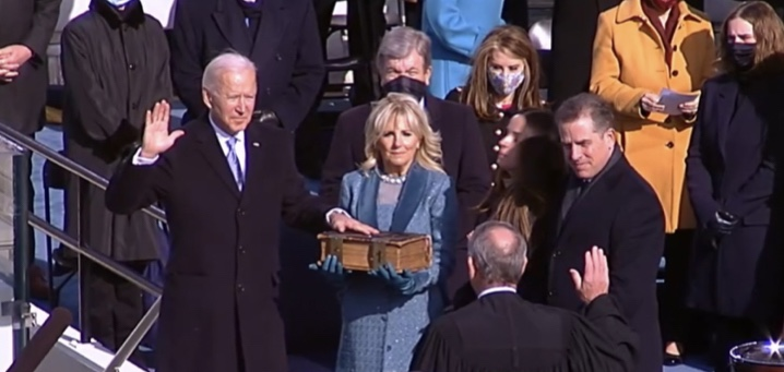 Yes, @POTUS @JoeBiden, we will meet the moment.  Truth and justice will not die on our watch. #InaugurationDay #AmericaUnited