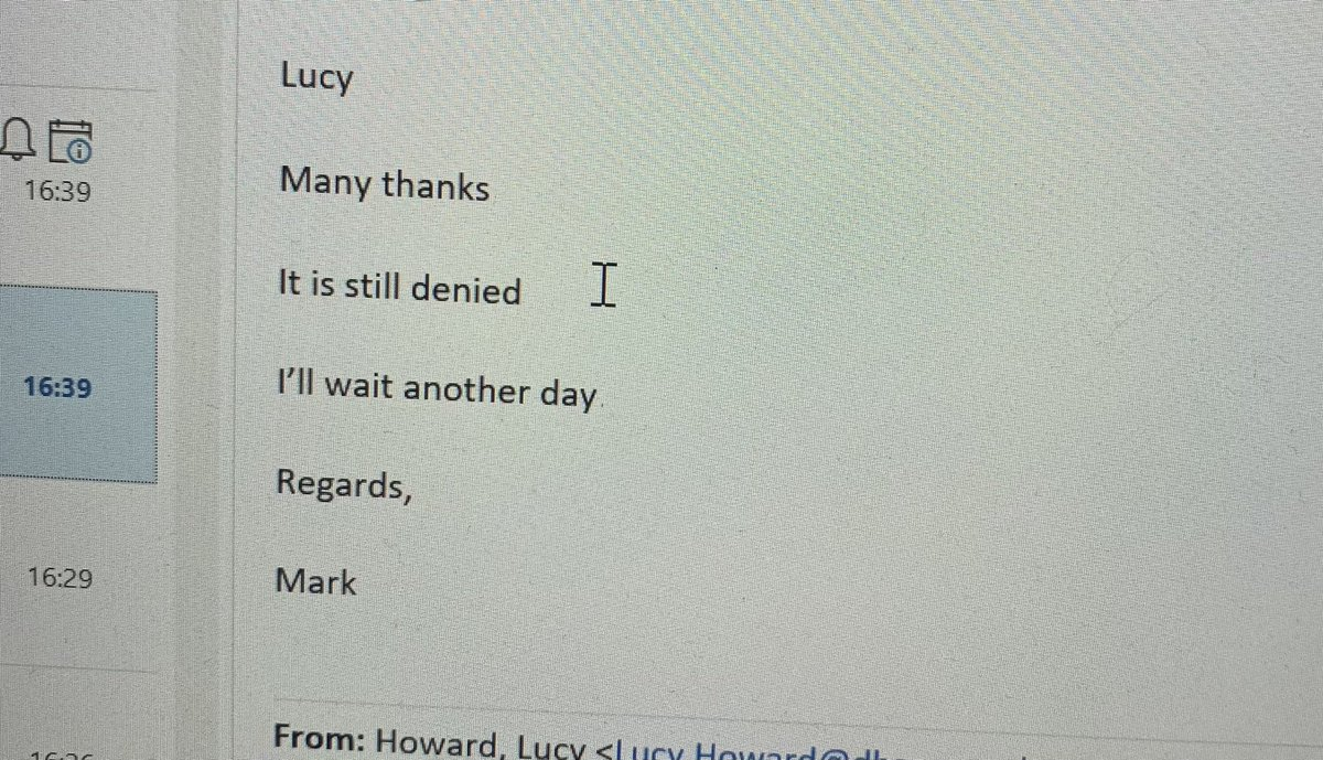 You know she's a chip off the old block when your #daughter sends you a screenshot of an email that reminds her of a four-line poem. #poetry #creative #comms #findingTheBeautyInTheEveryday #email #motherdaughter
