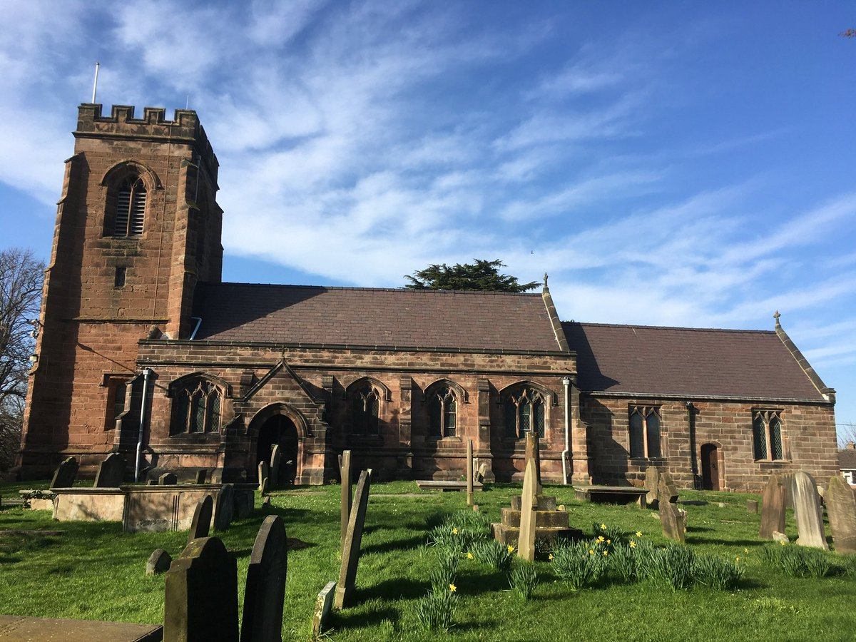 Huge thanks to @tonybaarton of @InsallArch for his support in recent weeks to help secure some much needed restoration funding for this fine old #church building in #Ince #Cheshire. Hope to report some positive news on it soon...