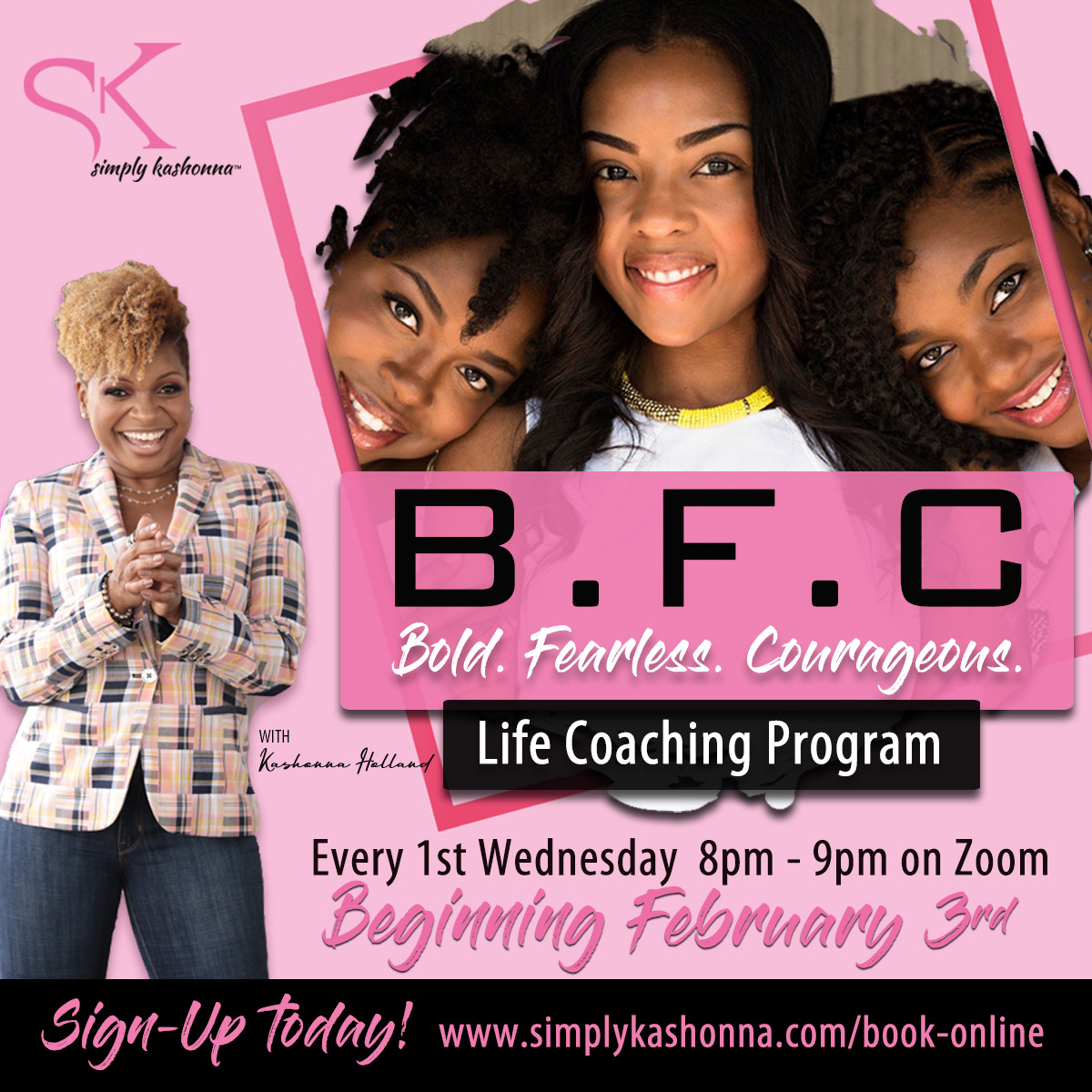 Visit  to purchase your group coaching plan by January 31st and lock in this special pricing for a 6 or 12-month plan.   #simplykashonna #leadership #lifecoaching #womeninleadership #businessleaders#gamechanger#empowerment #businessleader
