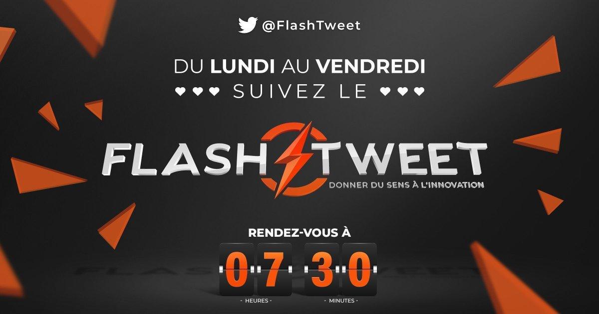 ✅ Voilà c'est fini le #Replay du #FlashTweet !  RDV demain à 7:30 pour une nouvelle édition de la matinale digitale de #Twitter ⚡  Très bonne soirée ! 🧡