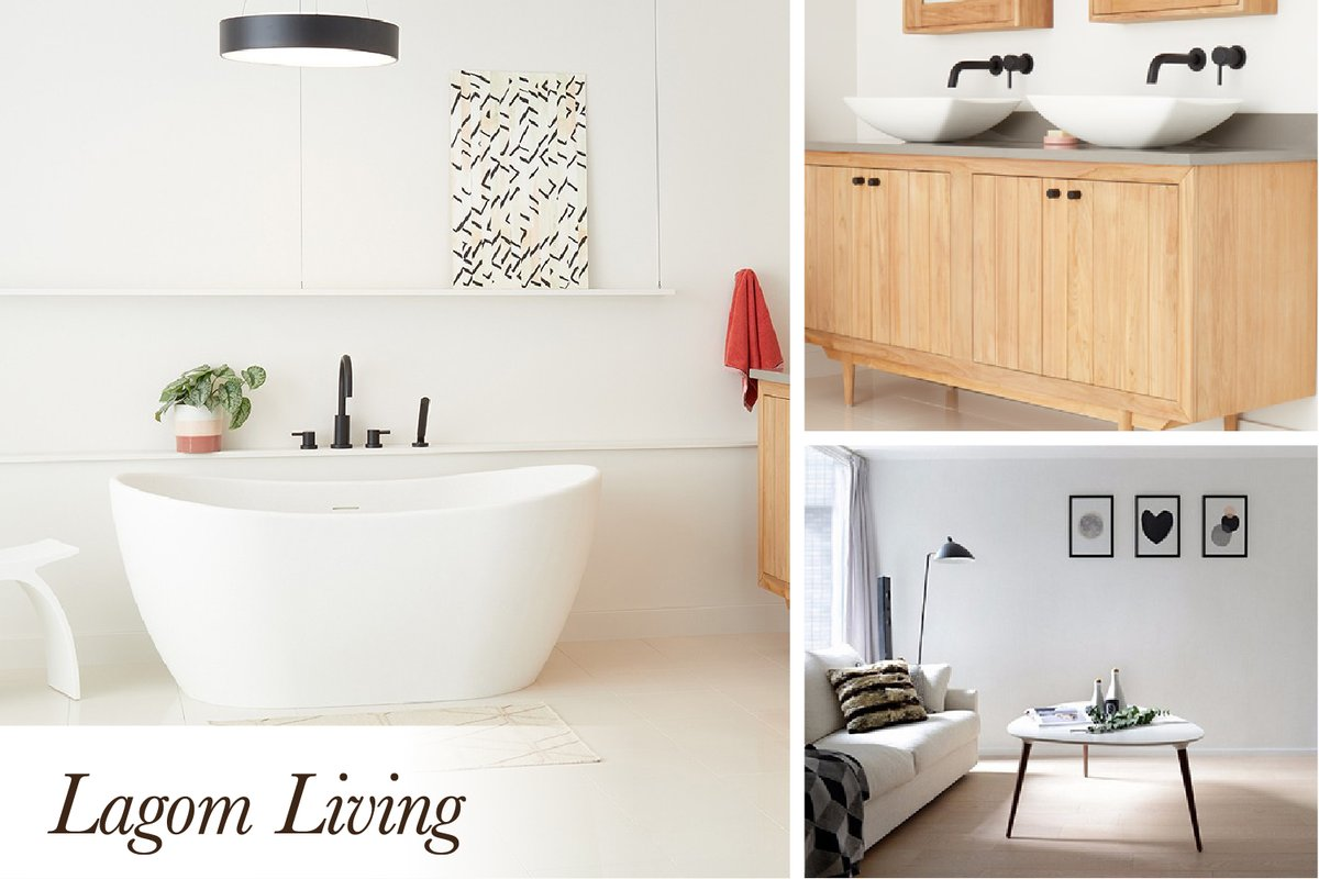 """""""Not too much, not too little—just right"""": that's what Scandinavian lagom living is all about. Discover the freedom of this clutter-free, cheerfully bright style that embraces natural elements. Shop now: https://t.co/w0N9XmTzYP #Scandinavian #Design #HomeDesign #Minimalistic https://t.co/a5Aqy1hGDW"""