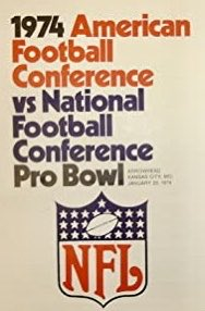 #OTD in MO History: 1974, The 24th @NFLProBowl was held at Arrowhead Stadium (@ArrowheadEvents), home of the Kansas City @Chiefs. The AFC beat the NFC 15-13 & Garo Yepremian of the @MiamiDolphins was the MVP. 🏈🏹🏟 #MObeerMOhistory