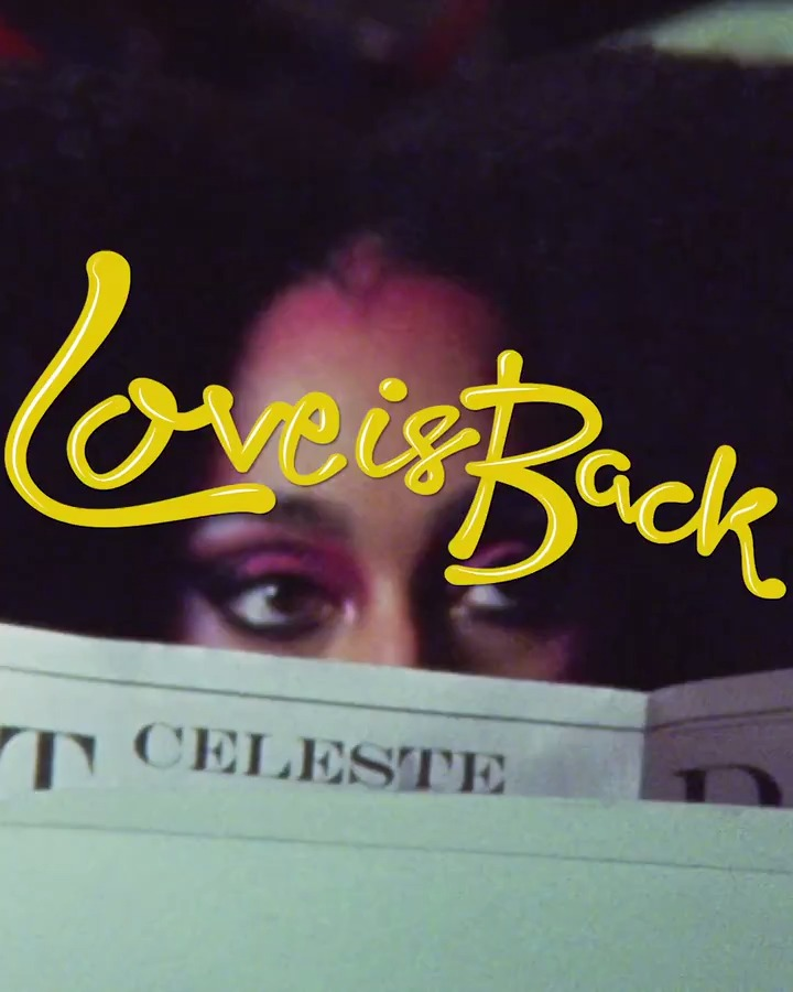 👠😍 A fun cameo in the lovely @celeste's new video that's out tomorrow!  ... Stay tuned! #LoveIsBack
