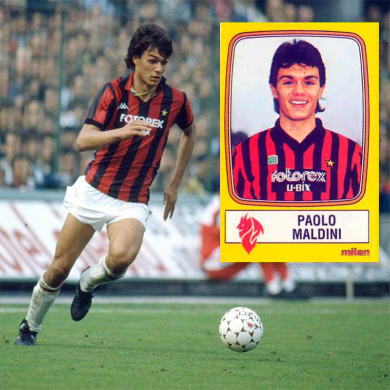 #OTD 36 years ago Paolo Maldini was making his debut with Milan!!! GRANDE MALDINI!!! The best defender of all time?
