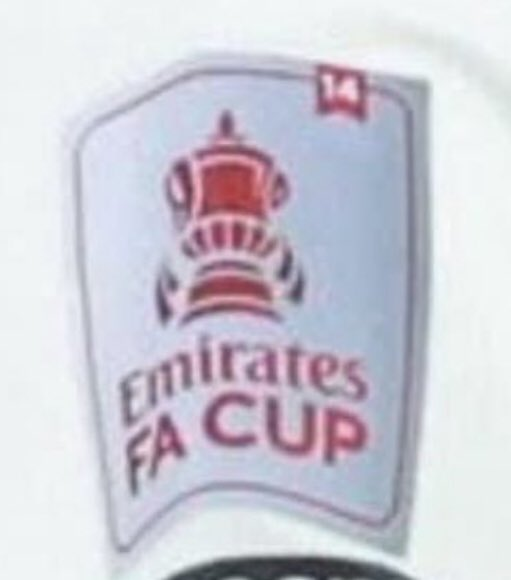 On Saturday Arsenal will wear a silver sleeve patch to commemorate winning the FA Cup in 2019/20.  The badge will have the number 14 to represent the number of times the club have won the FA Cup (so far...) #arsenal #afc #EmiratesFACup
