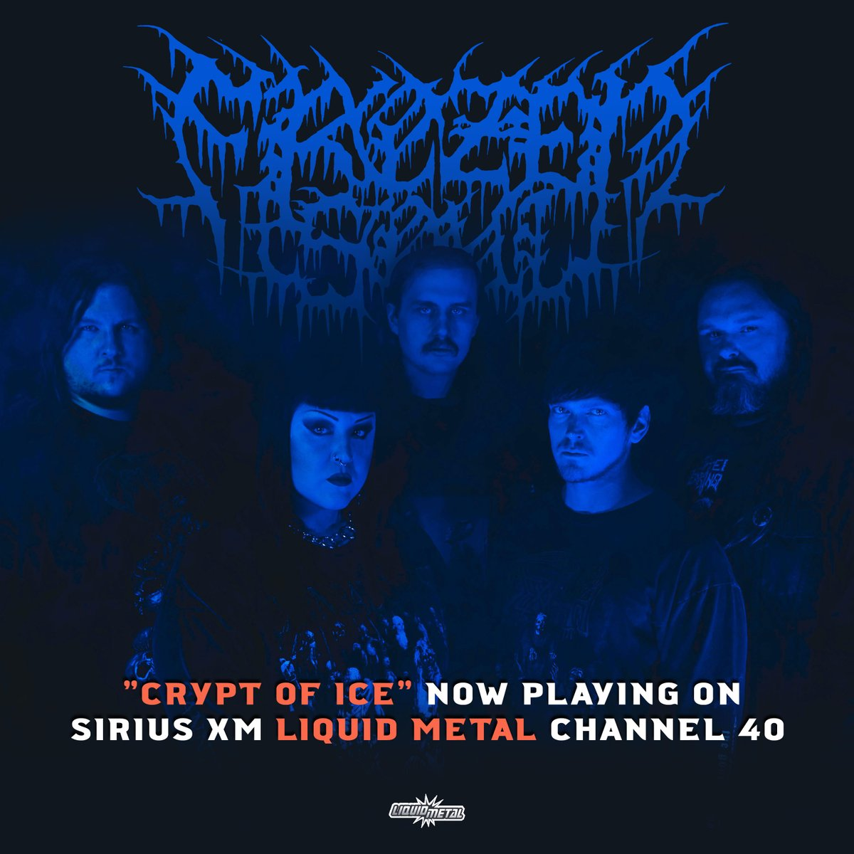 >@Frozensoultx is now playing on @SXMLiquidMetal 🥶🥶