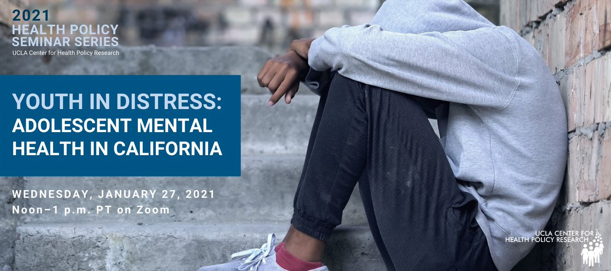 Nearly 1 in 3 CA adolescents reported having serious psychological distress, according to a new study that uses CHIS data. But who is most at risk and what are some of the factors that impact their mental health? Register for our webinar to learn more: