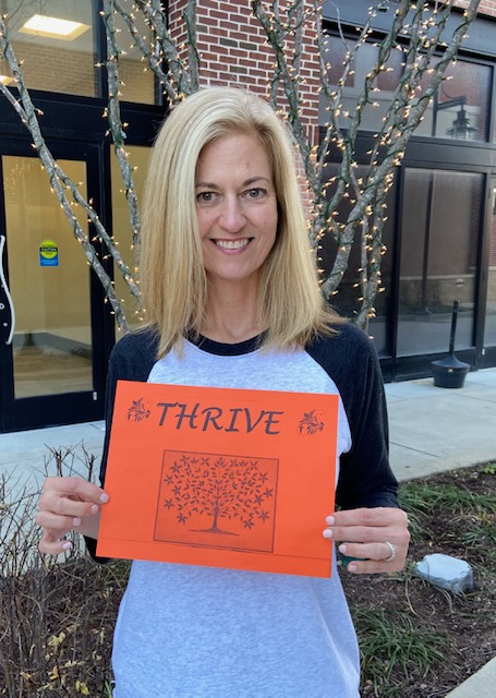 #OneWord this year for our #PatientAdvocate Christine is #Thrive Have you watched the webinar yet? What's your one word? Find your one word today:  #change #mindfulness #leadership #motivation #success