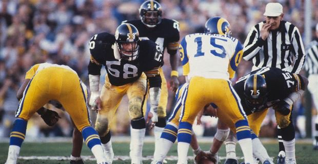 #OTD in 1980, the #Pittsburgh #Steelers defeated the #LosAngeles #Rams 31-19 to win #SuperBowl XIV at the #RoseBowl. Terry Bradshaw was #MVP throwing for 309 yards and 2 scores. Franco Harris added 2TDs. #HereWeGo #NFL #NFLTwitter