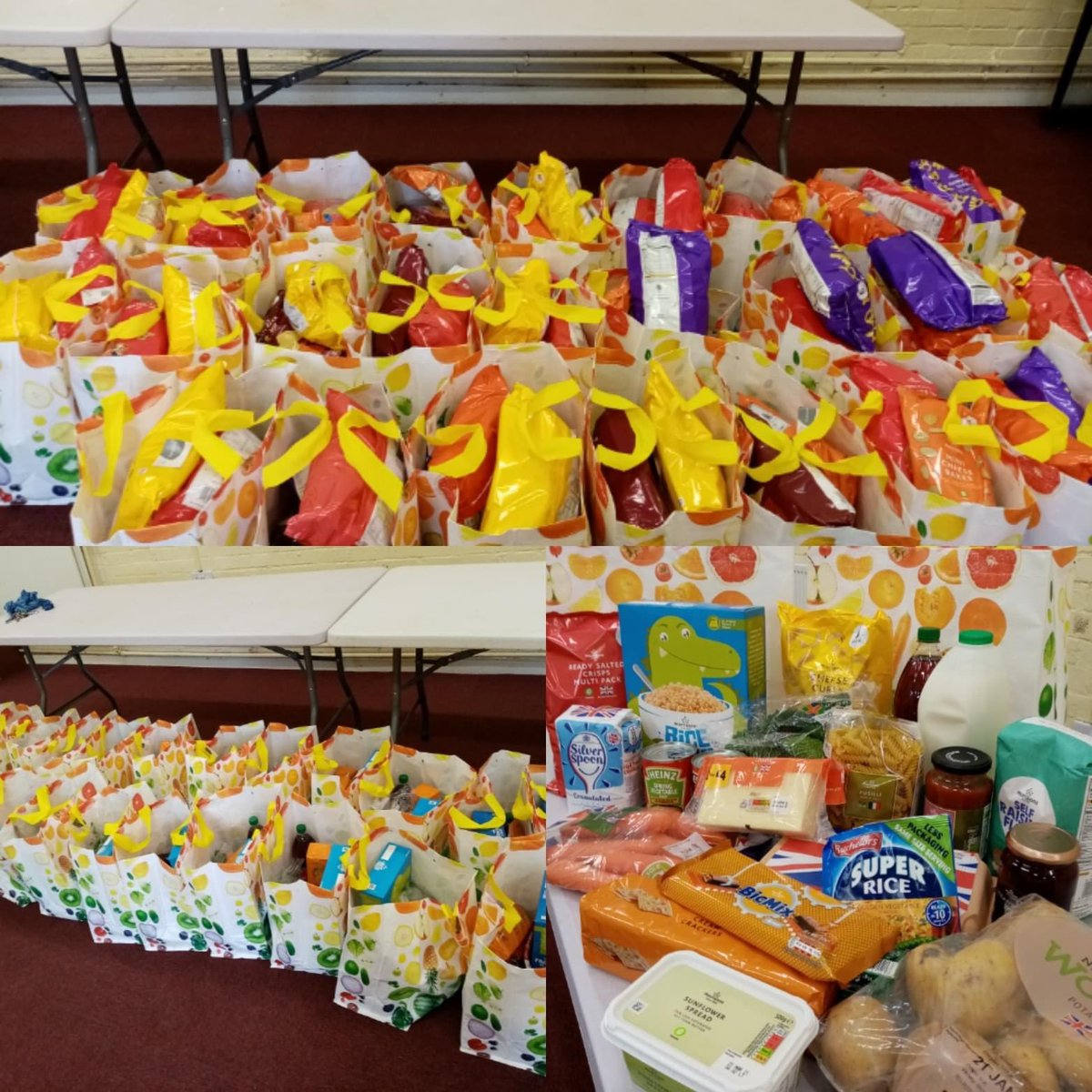 January can feel like the longest monthly can't it. We're proud to support our community and put food in tummies of 60 vulnerable children. BIG THANKS @The_BGL_Group & Ellie @Morrisons for helping us #EndChildFoodPoverty #EndFoodPoverty #ProudOfPeterborough