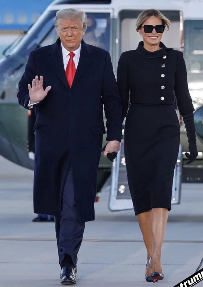 Thank you President #Trump and #Melania ❤️❤️🇺🇸🇺🇸🇺🇸