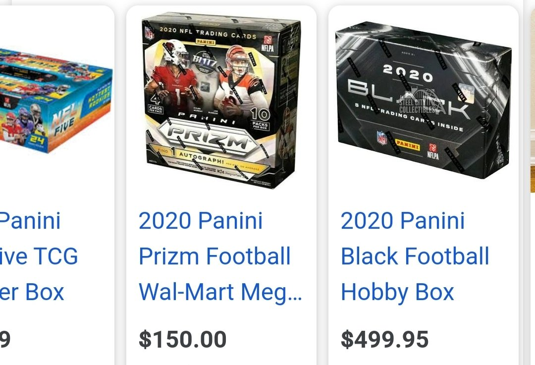 @PaniniAmerica @NFL @NFLPA @JoshAllenQB This crap is going on all over the world! Inside #buddy #system w/t #reps & @Walmart @WalmartInc @Target @AskTarget need to put restrictions on it now! #blackfriday has #limits Kids can't get these bc of #flippers & reps trying to get #rich! #STOPTHEFLIP