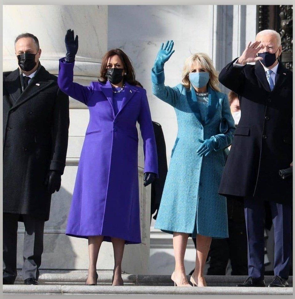 Today is the beginning of new era in America #BidenEra .. with new housekeeper.. Lets hope for the best.... Congratulations to both @JoeBiden  and @KamalaHarris . #BidenHarrisInauguration #POTUS #AmericaOrTrump #BidenInauguration #BidenHarris