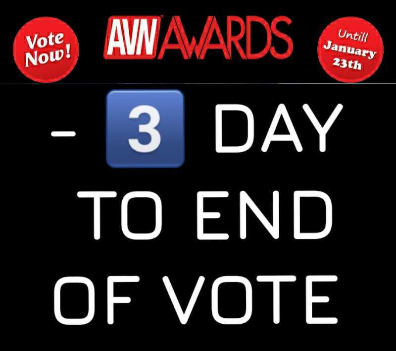 I watched, I came, I voted(20 January)for my favorite @BbwSofiaRose for the #AVN @AVNAwards avn.to/vote on #AVNStars ♥️Favorite BBW Star ⚠️Last 3 days of vote!!!!