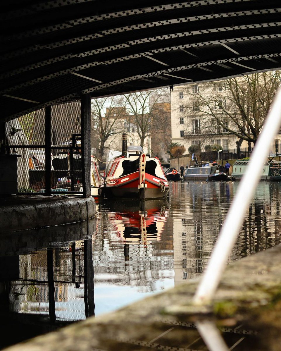 A calmer day yesterday_weather wise -  #LittleVenice #LoveWhereYouLive , #lockdown 🖥️IG @venetian_stories    19/01/2021