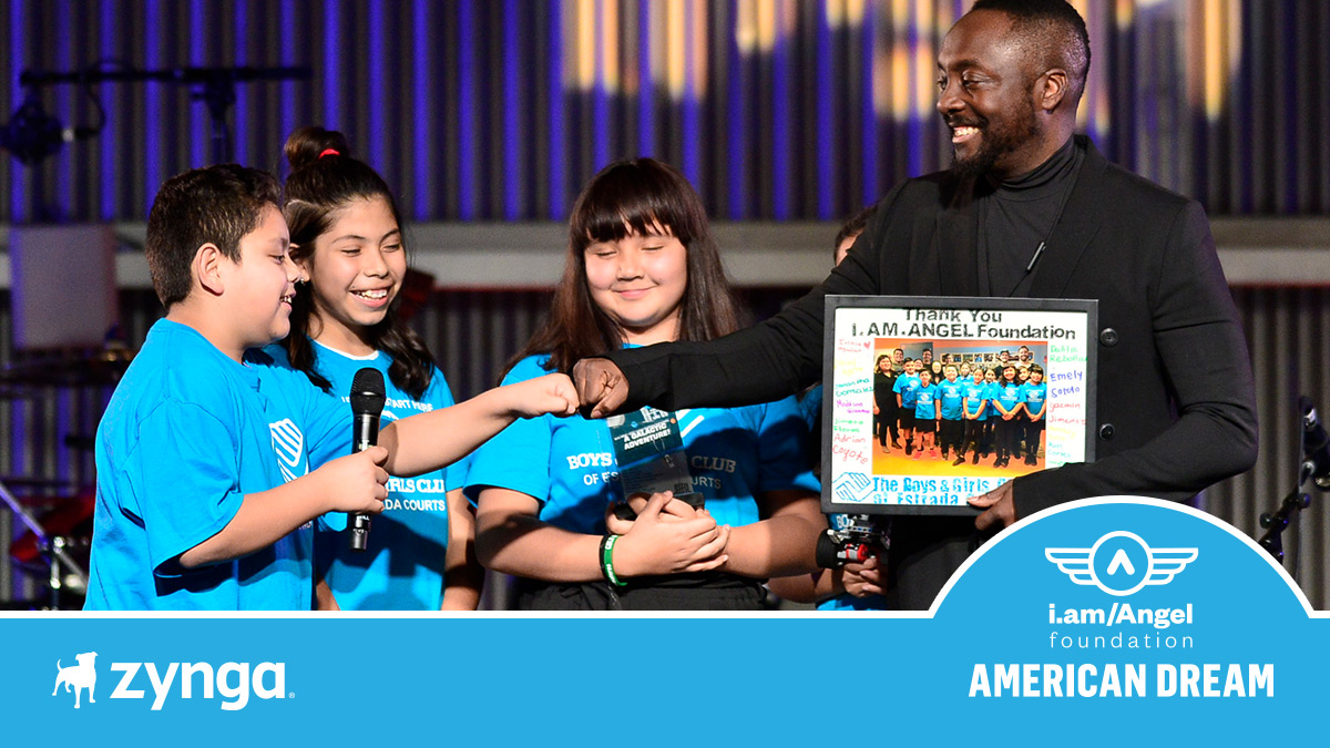Zynga is supporting the @iamangelfdn's #AmericanDreamFund so that students in underserved neighborhoods can create a new legacy for their families and their communities. Will you join Zynga in supporting their @gofundme?
