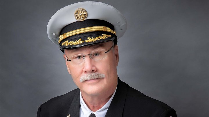 Danny Watkins, 67yo Fire Chief and 1st Responder, San Benito Fire Department, Texas, died of #covid19 1/12.  After 35 years in firefighting, he was a consummate  professional and a friend to all. He leaves a wife and 2 sons. #healthcareheroes #WearAMask