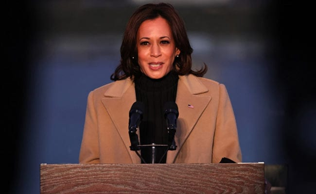"""Ready To Serve"" Is Kamala Harris' First Tweet As US Vice President"
