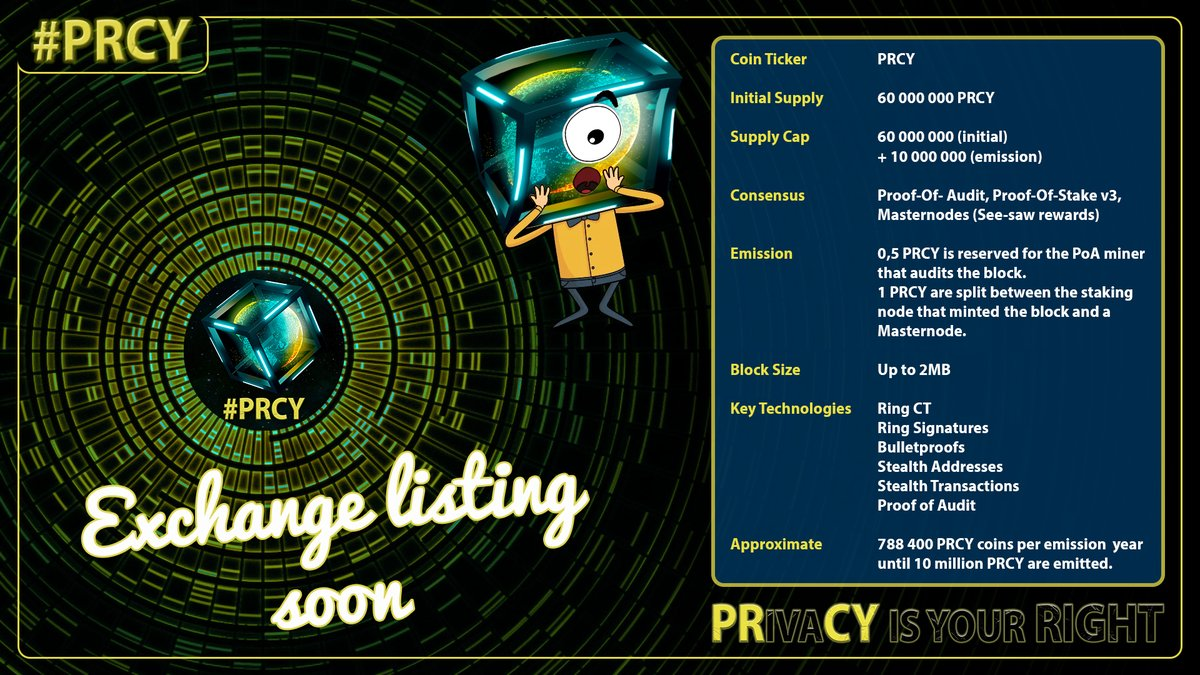 RT @PrcyNetherlands: The #PRCY wallet is released, #airdrop is done🤩  Download: https://t.co/K4ks3RQwuD  🔜the team will announce their first #exchange Join the #community: https://t.co/dnpzSsrlPJ  @prcycoin #Crypto #altcoin #coin #Desktop $PRCY #blockc… https://t.co/MGmAsz1K6V