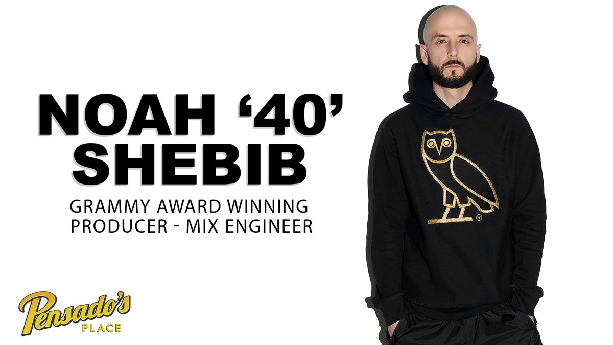 """It's been a long time coming, and we are thrilled to present to you our recent discussion with musical genius, Noah """"40"""" Shebib (@OVO40) !  WATCH:"""