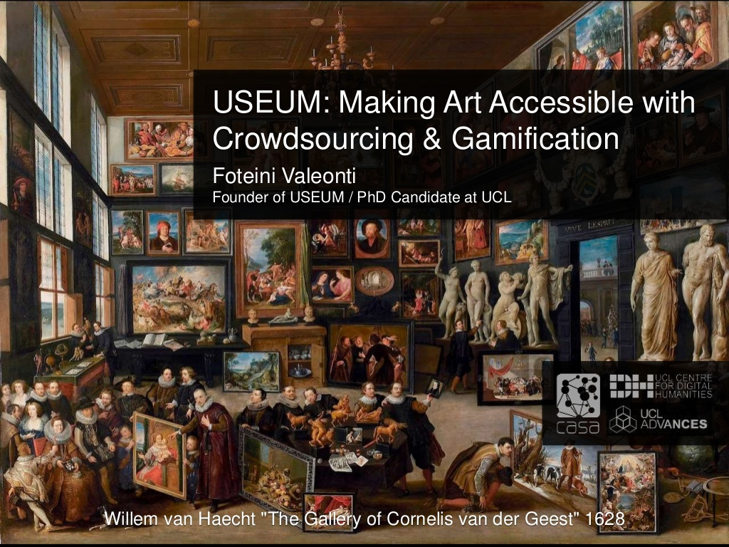How did crowdsourced art pave the way for art to become more accessible? Watch the video how USEUM crushed challenges concerning Intellectual Property and utilized gamification:  #CSW2020 #beBOLD #art #crowdsourcing #museums #gallery