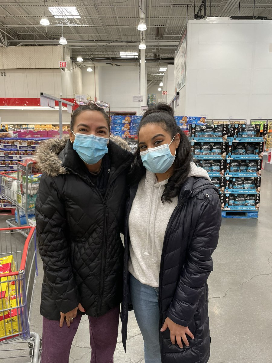 @AOC at Costco - best. day. ever.