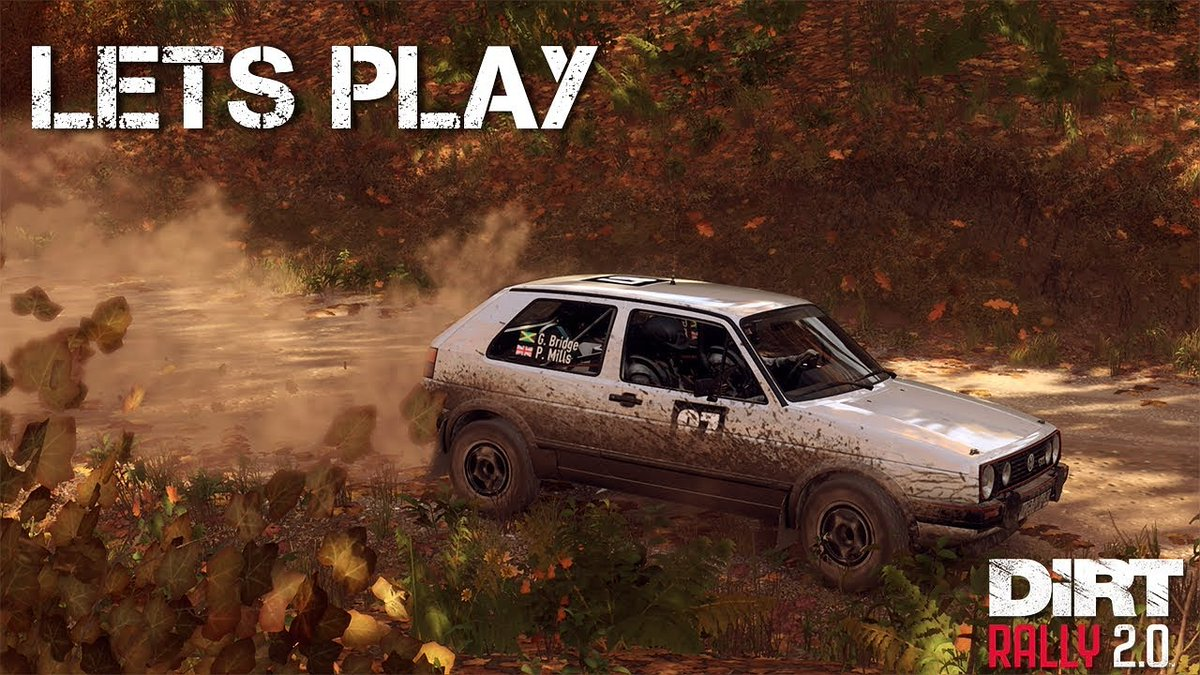 New #dirtrally video up. #simracing #codemasters.