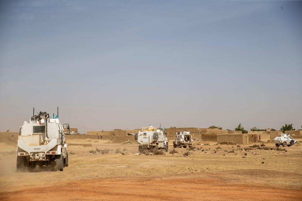Une opération qui contribue à la protection des civils dans la région et soutient le redéploiement des Forces de défense et de sécurité maliennes #FDSM dans la zone.  @UNPeacekeeping #A4P #Mali