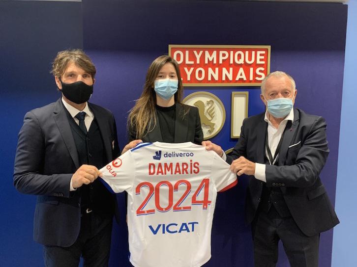 [ACTUALIZACIÓN]  La vizcaina Damaris Egurrola firma con el Olympique de Lyon hasta 2024   Informa @Amaiuskula