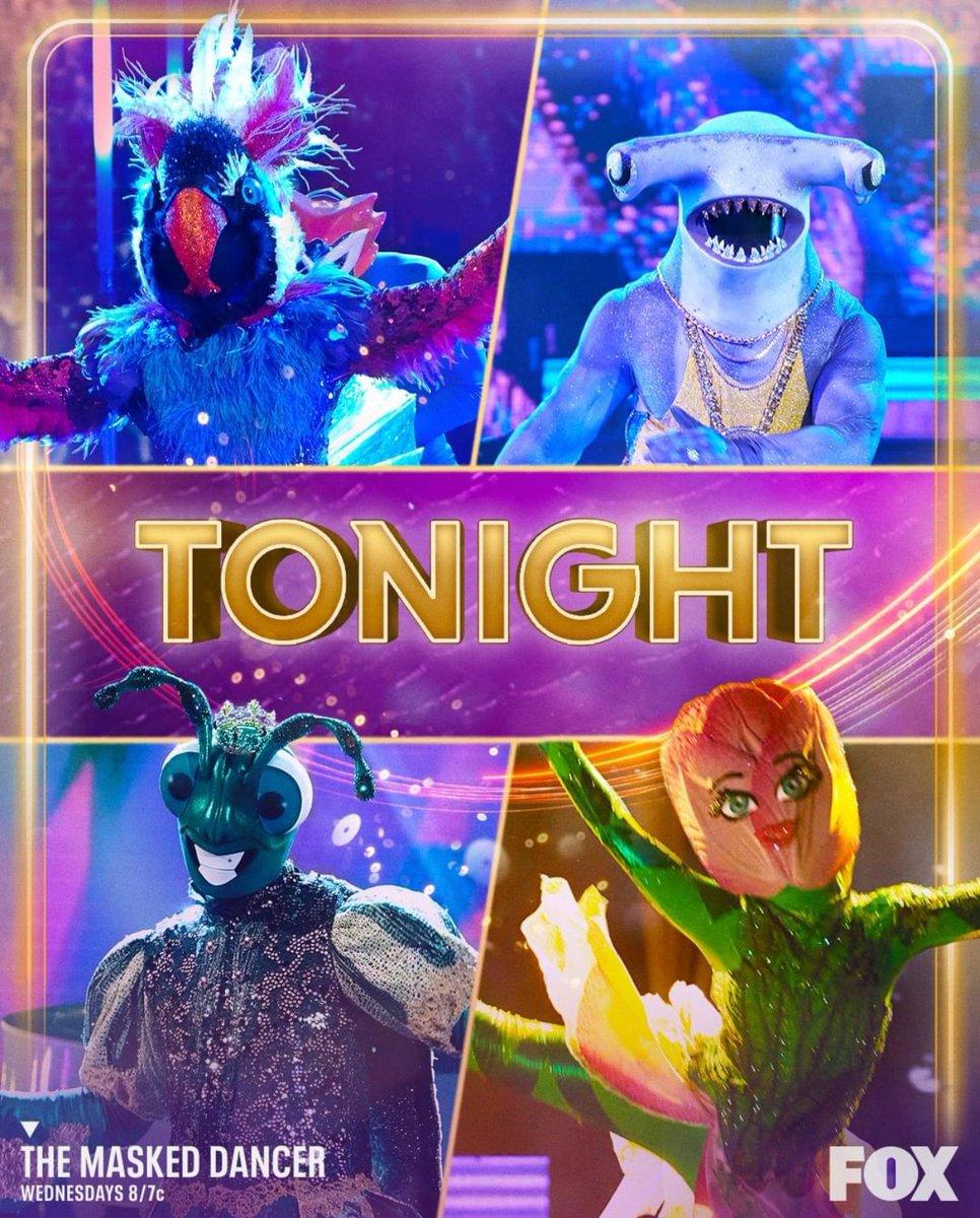 Tune in  @MaskedDancerFOX tonight! Whoop whoop! 💃❤️