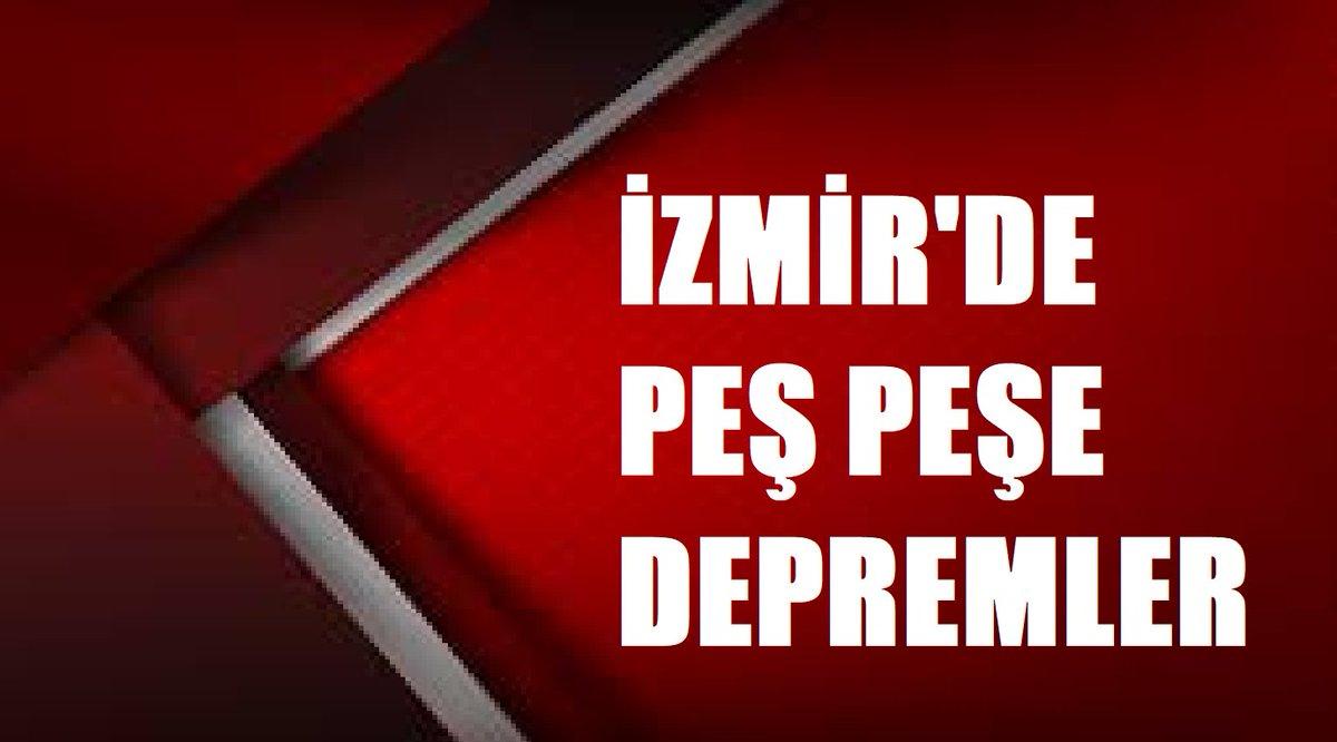 İzmir'de peş peşe depremler! AFAD'tan ilk açıklama geldi https://t.co/ZrZFATuvra  #izmirdeprem https://t.co/vNRwQlQf3m