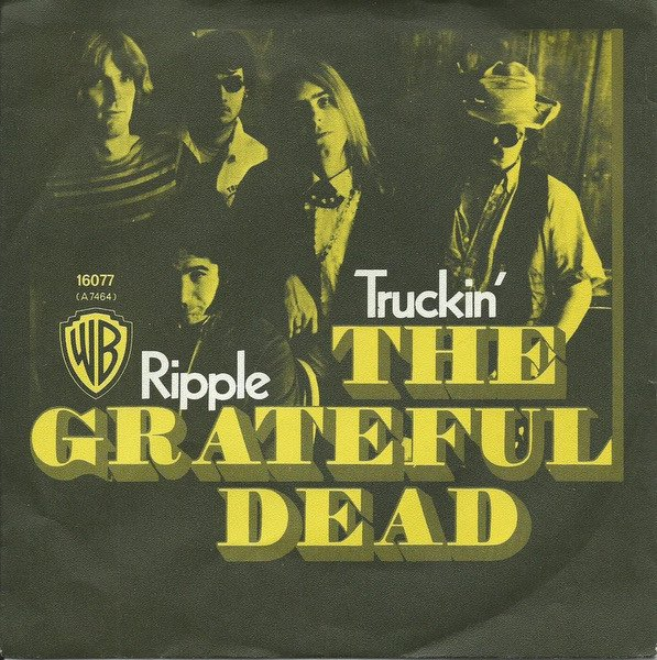 """January 20,1971   The @gratefuldead release the US#64 single """"Truckin'"""", the band's highest charting until """"Touch of Grey"""".  Lyrics include what may be the band's most quoted line : """"What a long strange trip it's been"""". #NowPlaying #otd"""