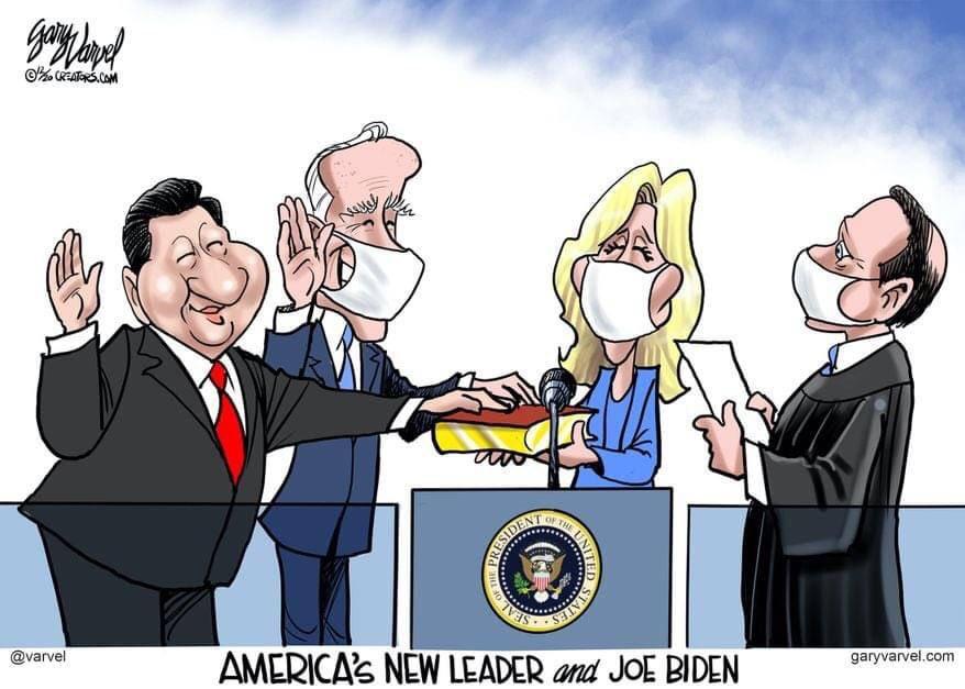 @JMichaelWaller #InaugurationDay #Inauguration2021 #Inauguration #InaugurationDay2021  #China #JoeBiden  #ChinaLiedPeopleDied  #ChinaJoeBiden  #ChinaLiedMillionsDied  #China_is_terrorist  #Chinazi  #ChinaMustPay  #ChinaOwnsBiden  #HunterBidensLaptop  #communismkills  #Dominion #ElectionFraud