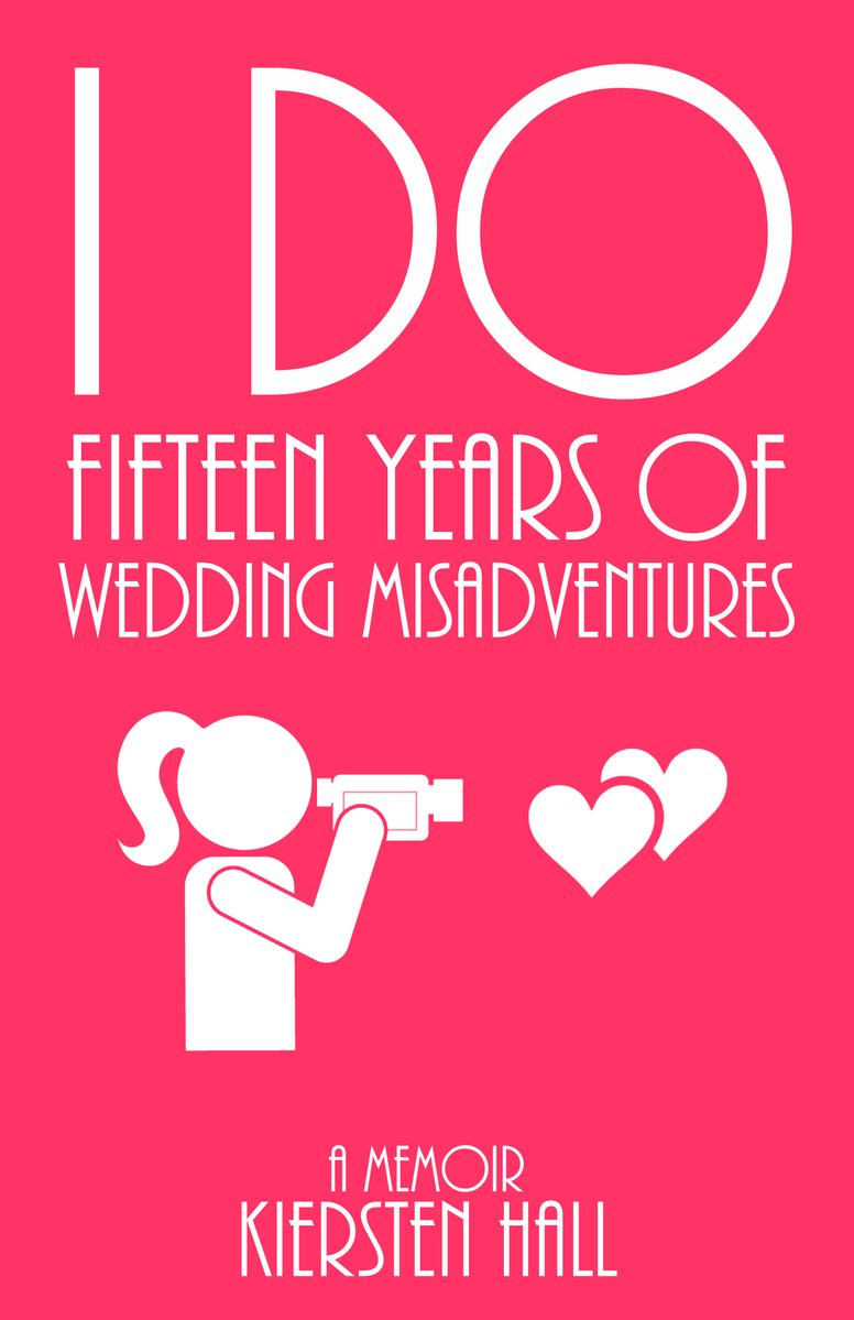 """""""This book is a must read for anyone who is planning on getting married or has already taken the trip down the aisle!""""   """"I Do: Fifteen Years of Wedding Misadventures"""" by @ khallbooks.   IAN1 humor #wedding #ASMSG books ebooks  books giftideas goodreads"""