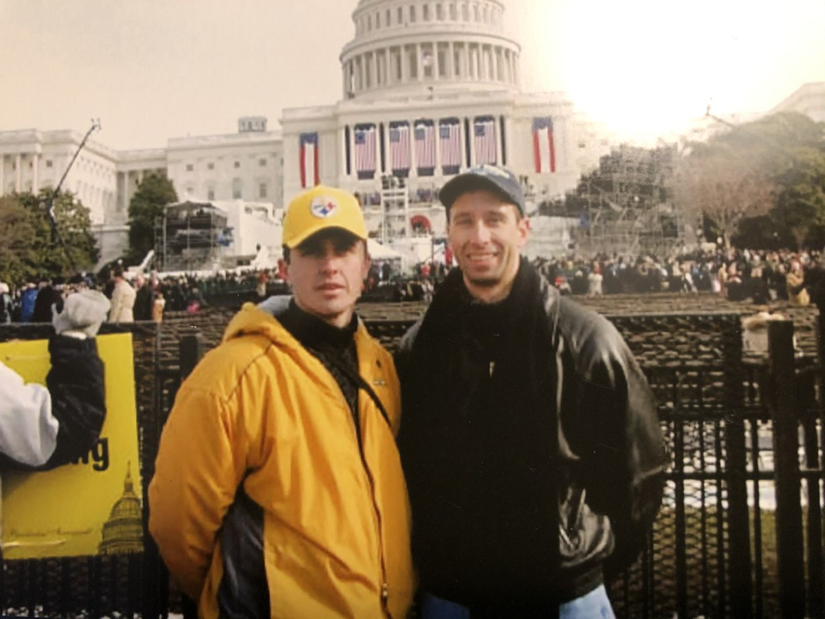 @AJ_Calderone #otd 2005.  Inauguration memories.  If I only had my #browns hat on.  😂