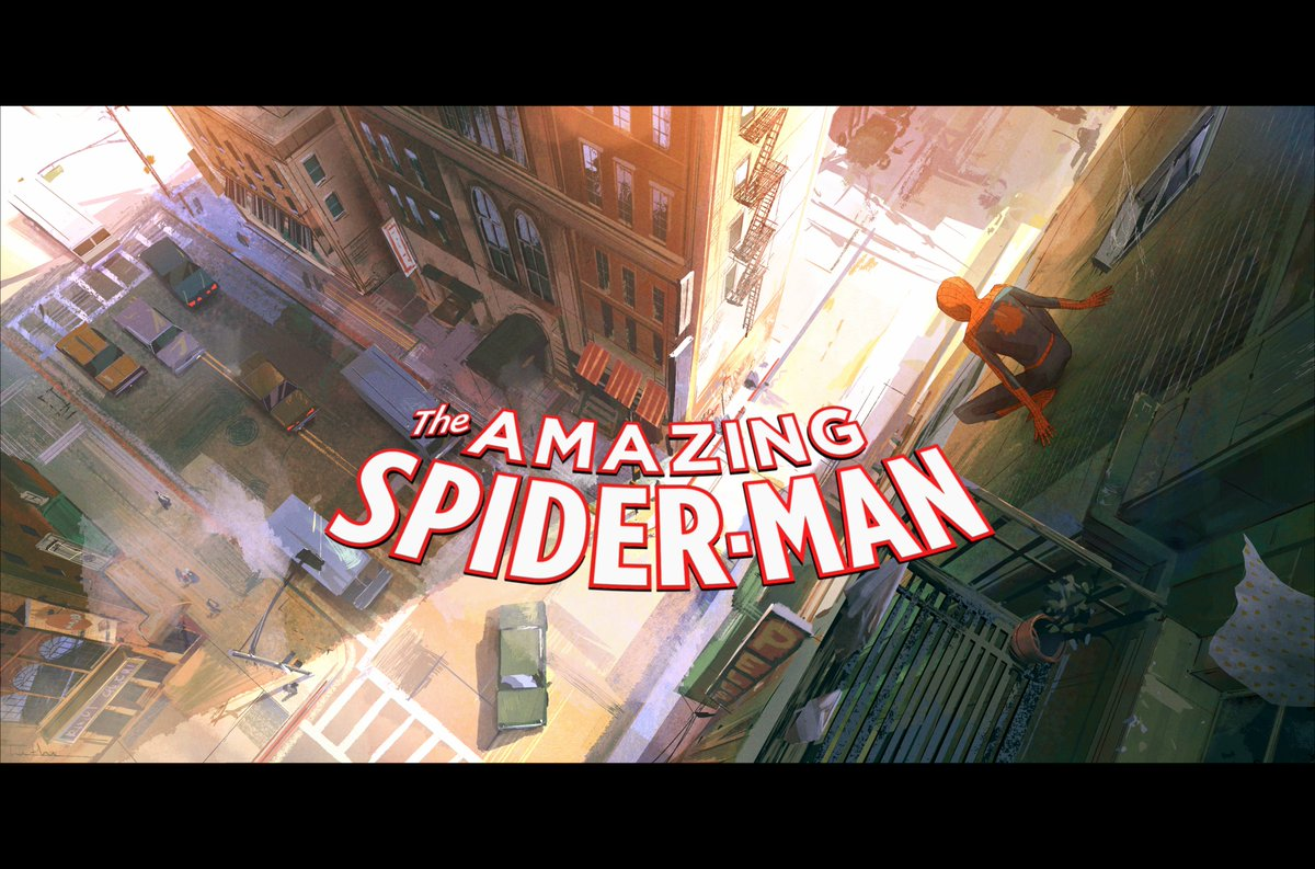 This is how I'd do a Spider-man animated series.
