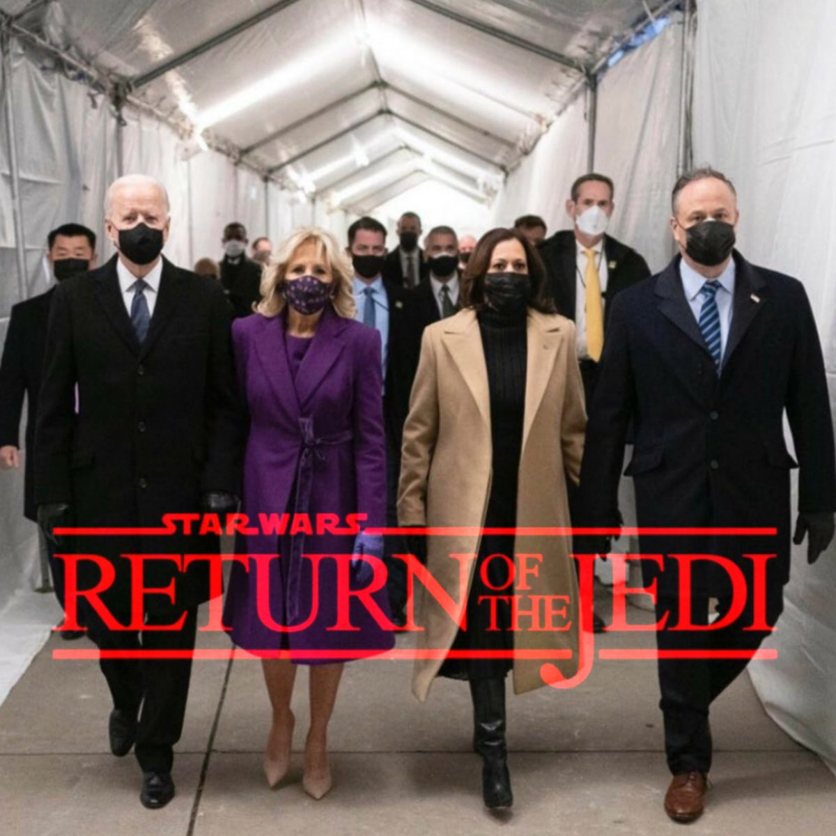 #InaugurationDay #Inauguration2021 #BidenHarrisInauguration #returnofthejedi #jedi