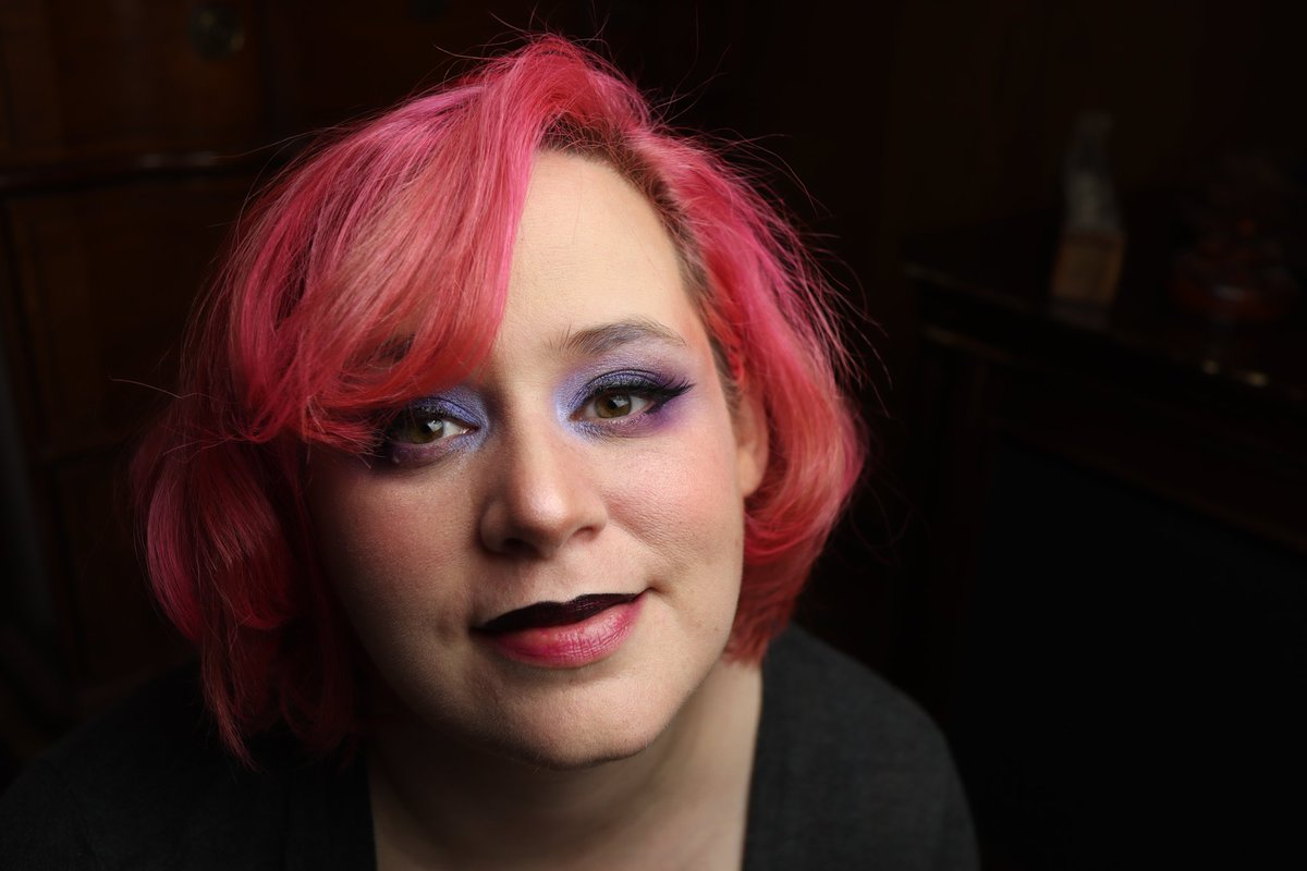 #lgbtqforcorpse needs more pink, say I.  I'm Hana and I'm cast iron freaking pan.