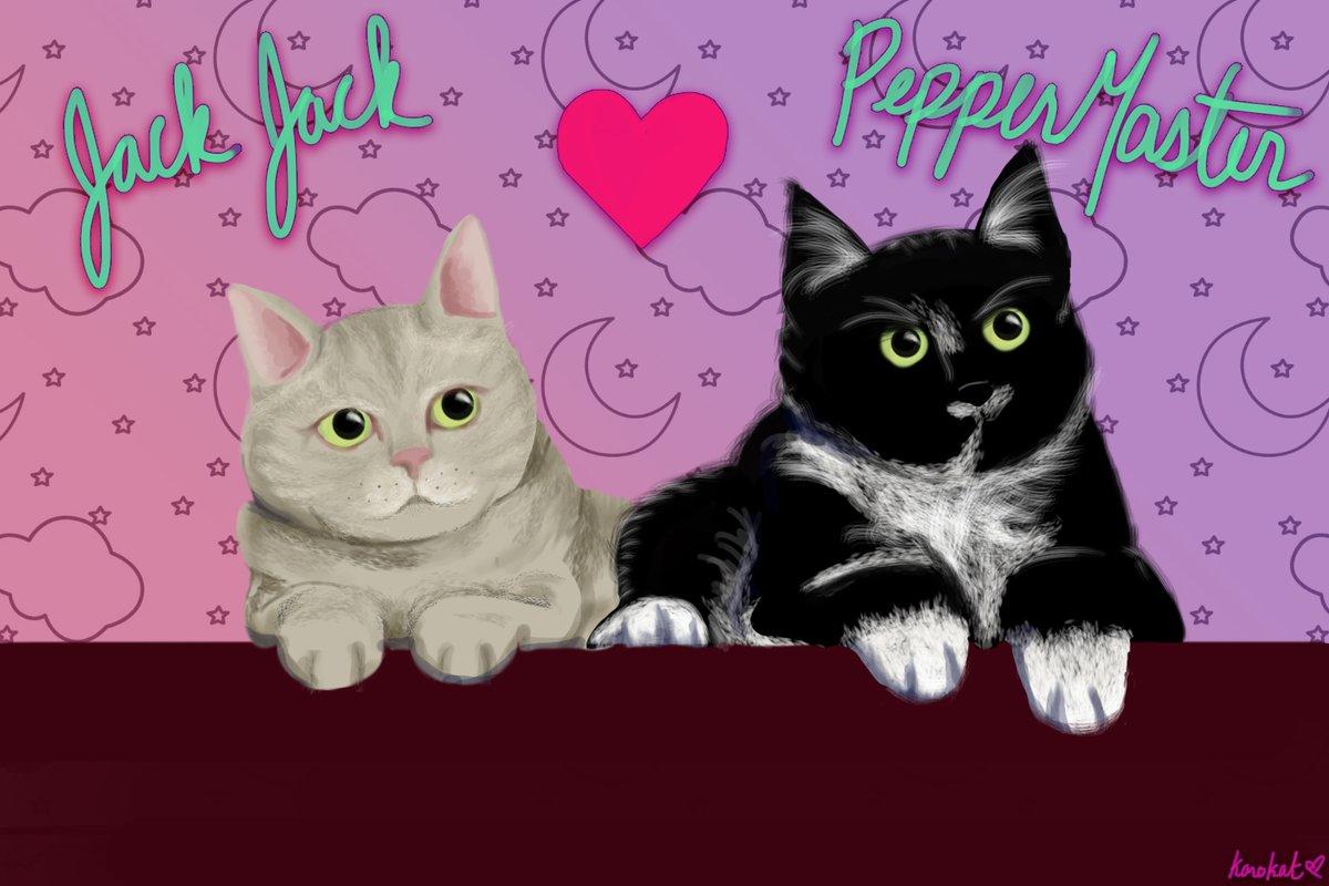 @pokimanelol @CashApp These are my babies Jack Jack and PepperMaster  $karokat3790 #CashAppPoki