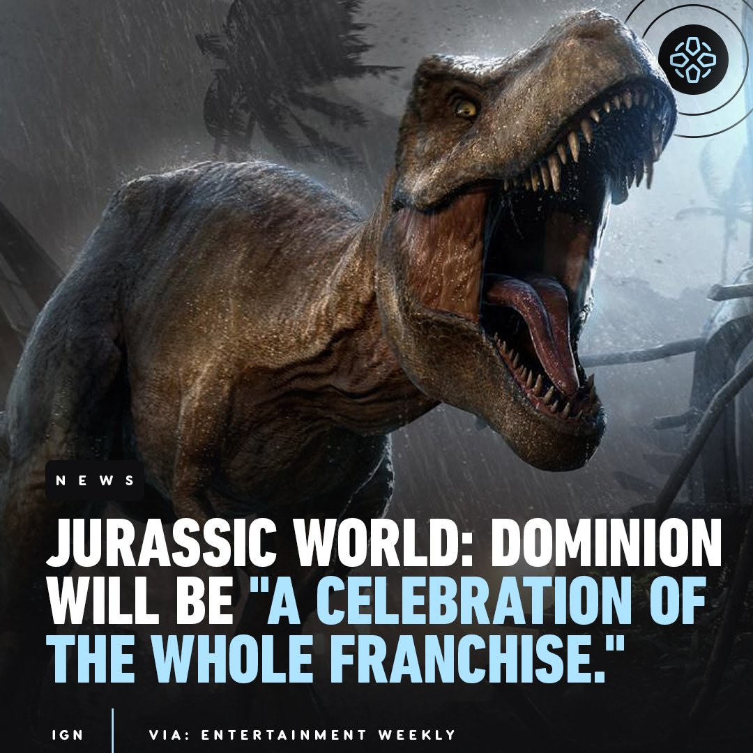 "Jurassic World: Dominion will be a ""culmination"" of all six films in the Jurassic Park and World franchises, according to director Colin Trevorrow."