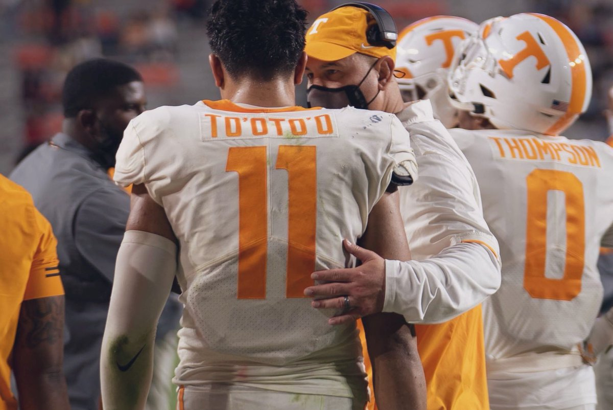 THANK YOU. This is not goodbye, at all. Being a Vol will always have a special place in my heart ! And I mean that. My brothers and I gave us your all everyday , home sweet home to me ! ✊🏽